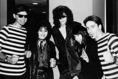 The Squares, Joan Jett, Joey Ramone (K-Rock show 1986)