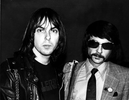 Johnny Ramone & Phil Spector