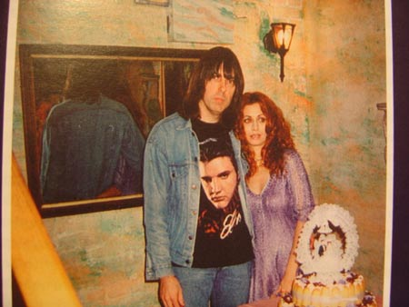 Johnny Ramone & Linda (Wedding day)