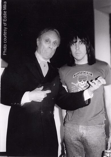 John Zacherle & Johnny Ramone (1990)