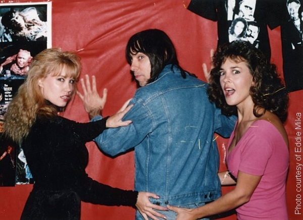 Monique Gabrielle, Johnny Ramone, Michelle Bauer (1991)