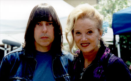 Johnny Ramone & Sally Kirkland