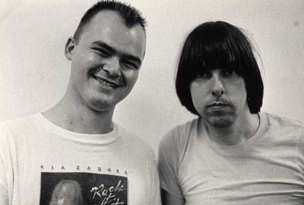 Don Pyle & Johnny Ramone