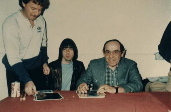 Johnny Ramone & Lawrence Peter Yogi Berra (NY Yankees)