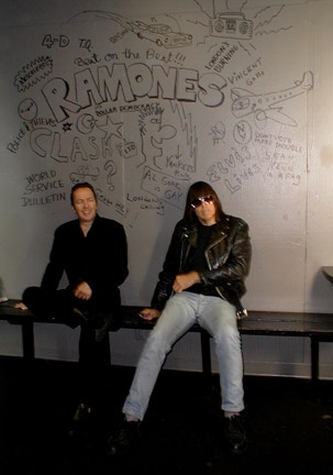 Whiskey A-Go-Go, Los Angeles, USA 2001 (Joe Strummer & Johnny Ramone)