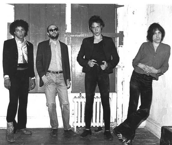 Richard Hell & The Voidoids (Ivan Julian, Robert Quine, Richard Hell, Marc Bell)