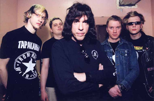 Marky Ramone & The Pinhead army - CDK MAI, Moscow, Russia 11.04.03