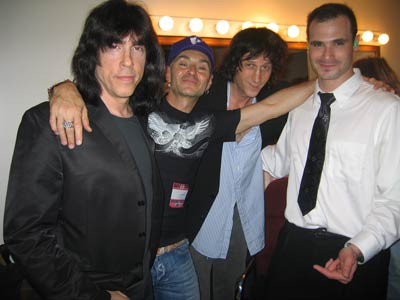Irving Plaza, New York, USA 19.05.04 (Marky Ramone, Arturo Vega, Mickey Leigh, Bradford Sussman)