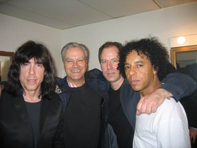 Irving Plaza, New York, USA 19.05.04 (Marky Ramone, Walter Lure, Andy Shernoff, Ivan Julian)