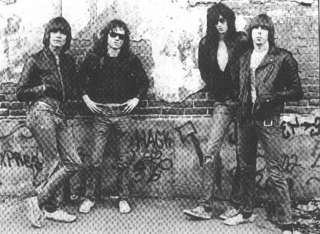 Ramones album session