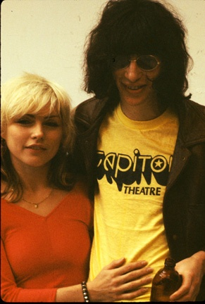 Debbie Harry & Joey Ramone