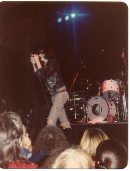 Civic Auditorium, Santa Cruz, USA 30.12.78