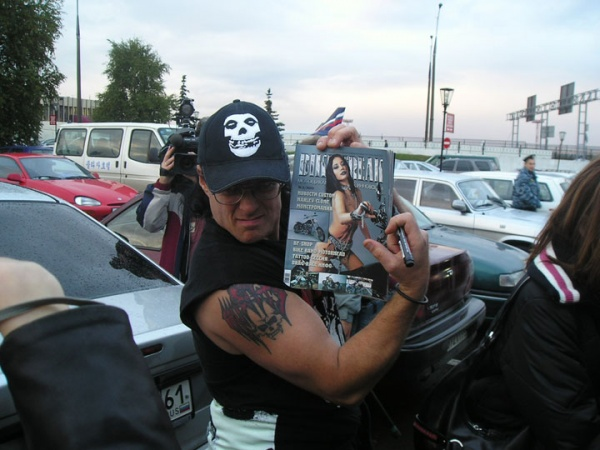 Jerry Only (Sheremetyevo-2 Airport, Moscow, Russia 23.09.04)